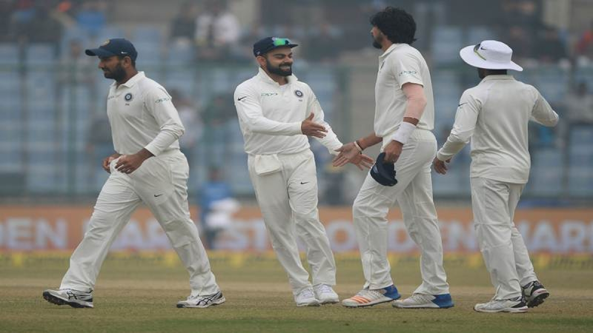 India vs Sri Lanka Delhi Test: SL bowled out for 373 in 1st innings