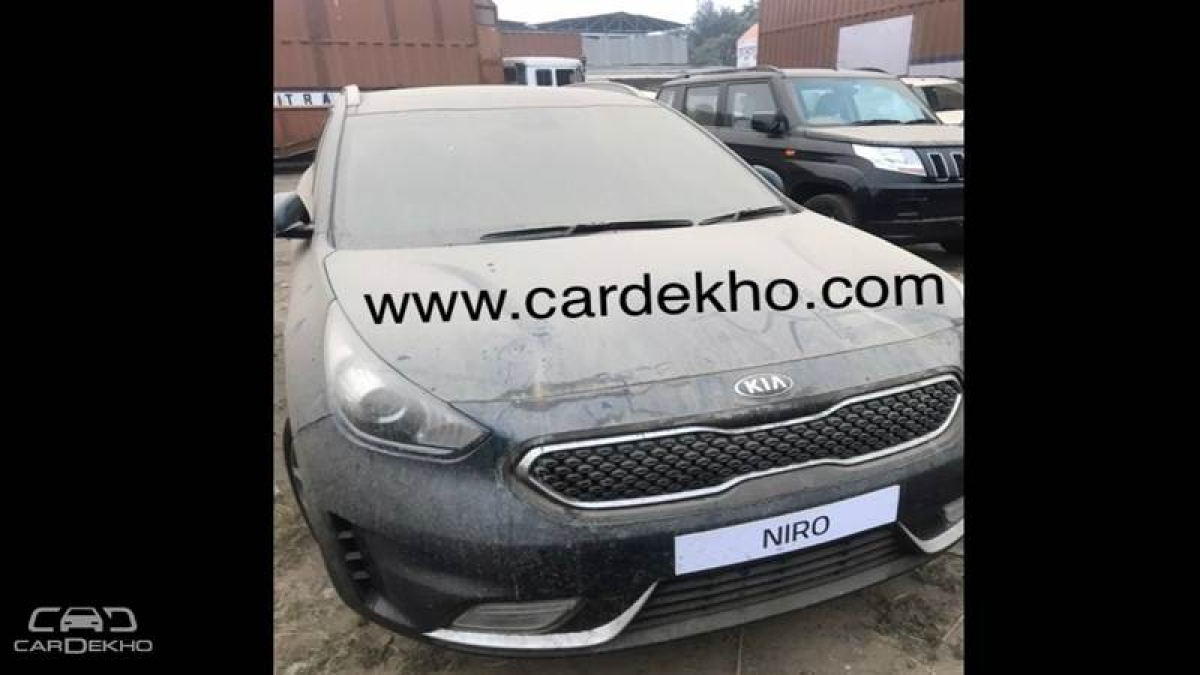 Spotted: Kia Niro, Sportage In India For Auto Expo Appearance