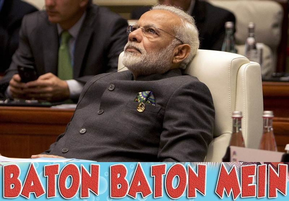 <strong>Talkative PM! Narendra Modi</strong>