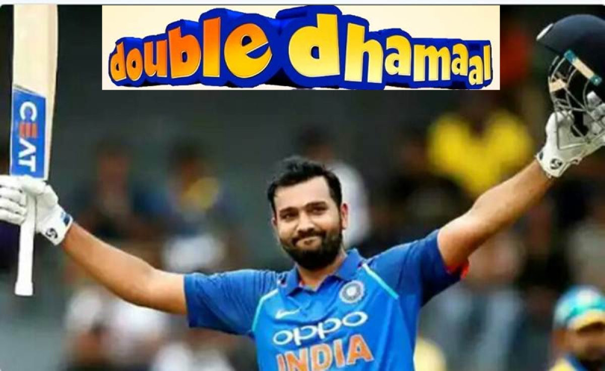 <strong>Twin Trouble! Rohit Sharma</strong>