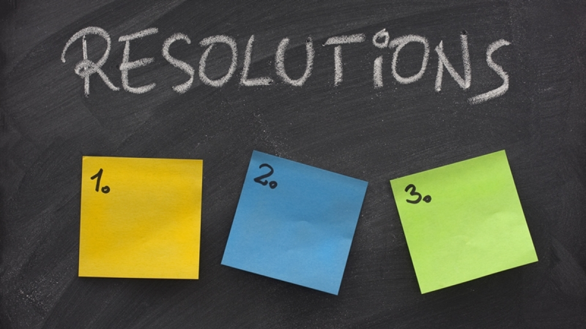 Looking for New Year's resolution? Try these 5 realistic ones