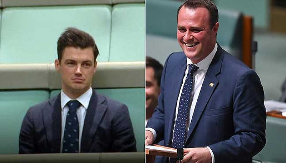 Australia same-sex marriage: Lawmaker Tim Wilson proposes to beau Ryan Bolger in Parliament