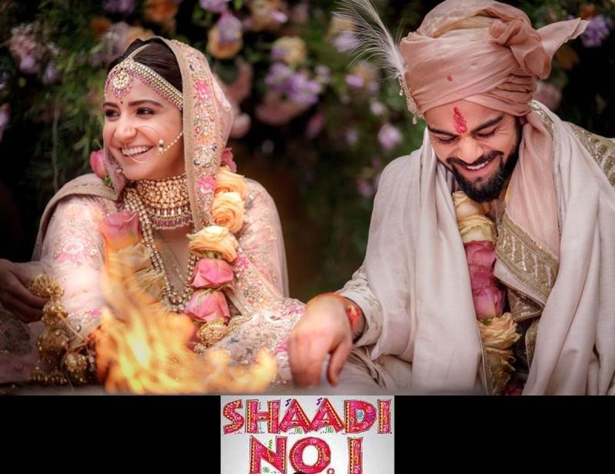 <strong>Virat+Anushka = Virushka Wedding</strong>