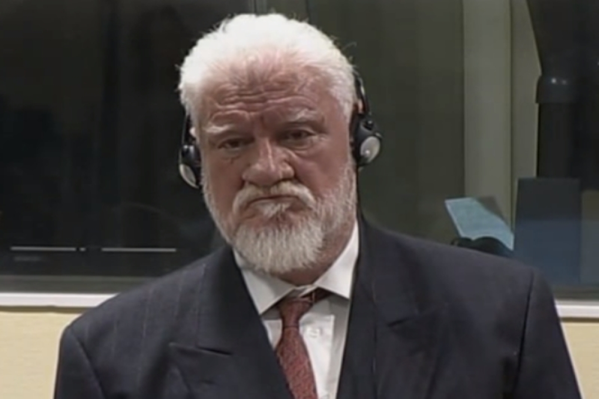 Potassium cyanide killed war criminal Slobodan Praljak: Dutch prosecutors
