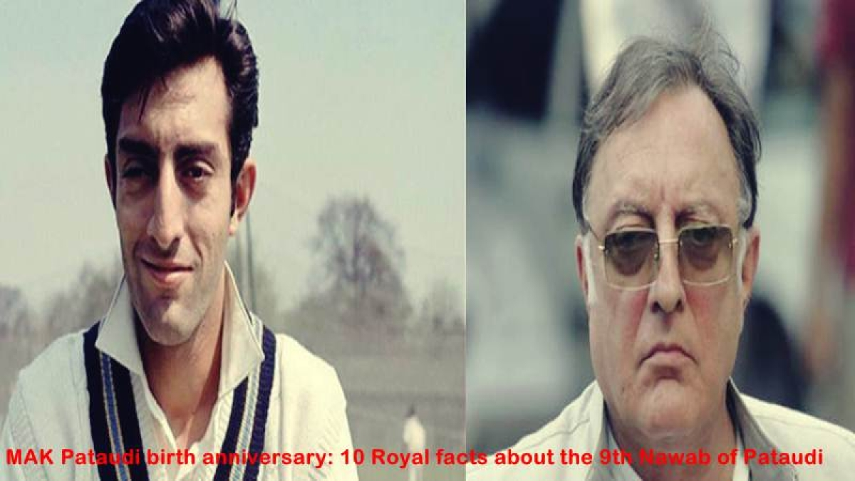 MAK Pataudi birth anniversary: 10 Royal facts about the 9th Nawab of Pataudi