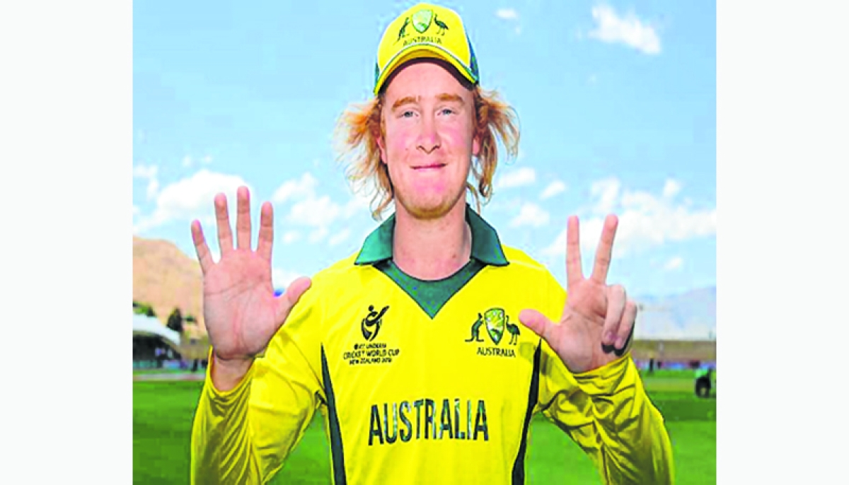 Pope's amazing 8 for 35 guides Australia to semis of U-19 WC