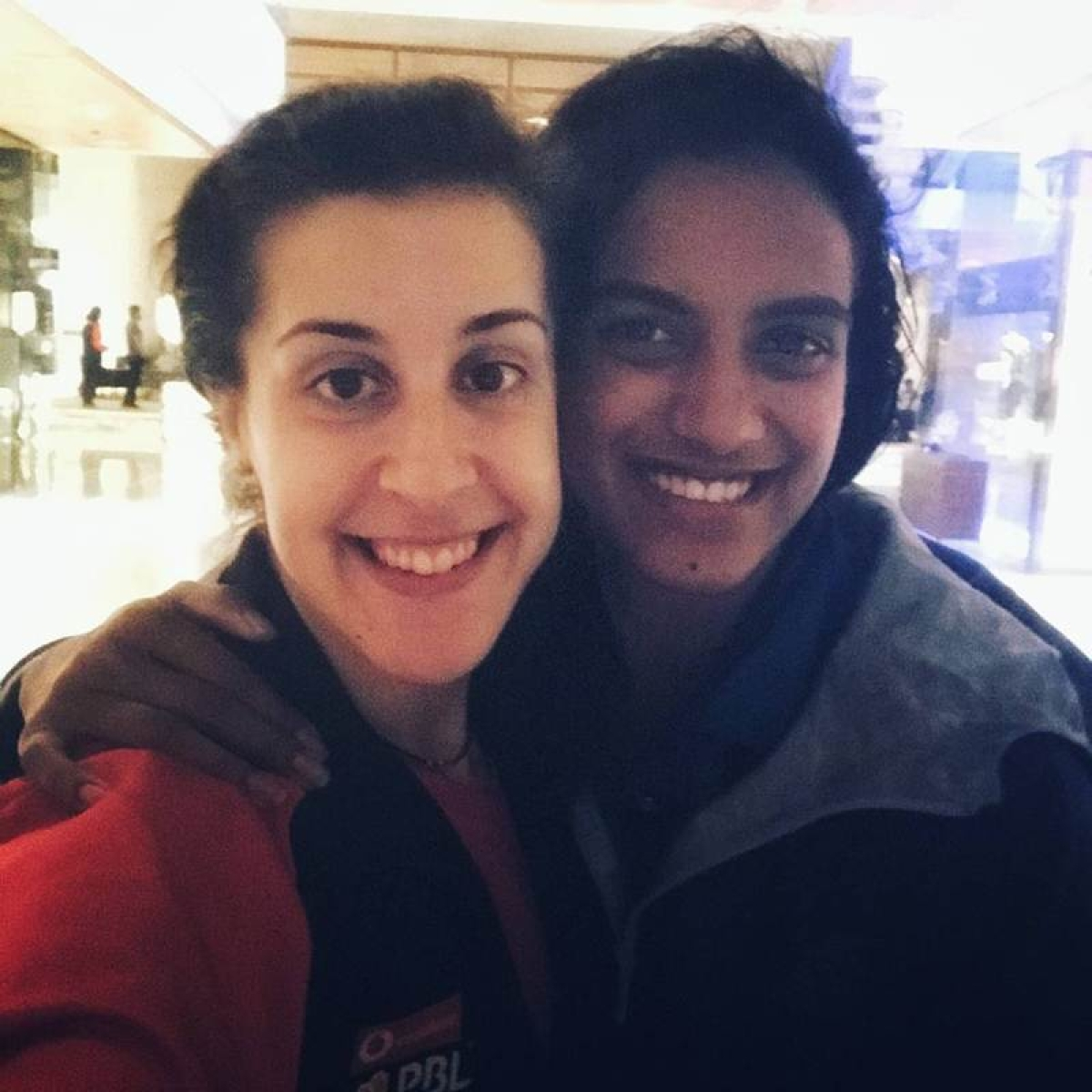 PBL 2018: Carolina Marin shares a selfie with PV Sindhu, gets trolled by HS Prannoy but loved by fans