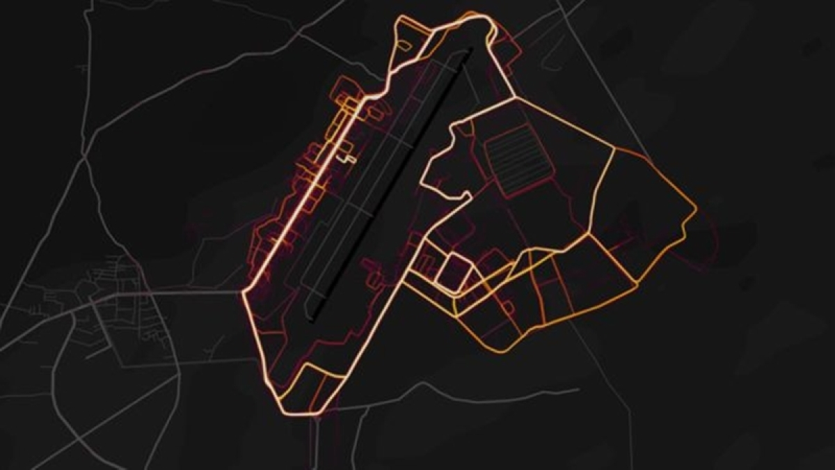 Fitness tracking app Strava can reveal location of secret US army bases
