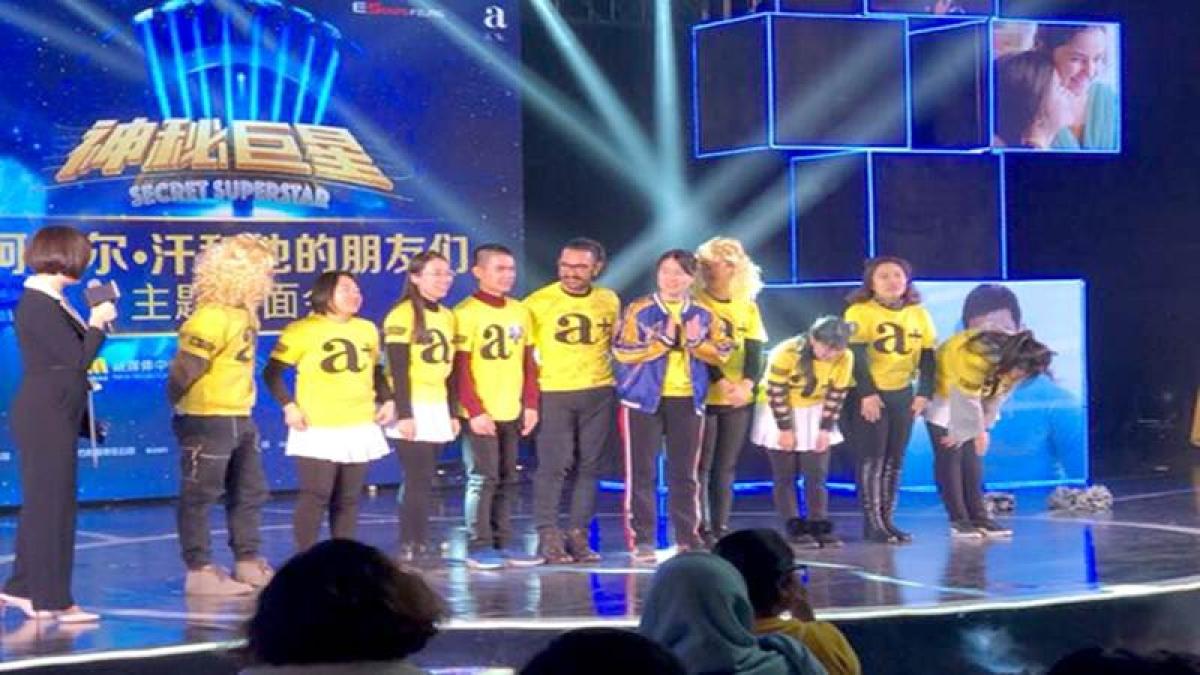 Watch video: Aamir Khan dances on 'Sexy Baliye' during Secret Superstar promotions in Shanghai