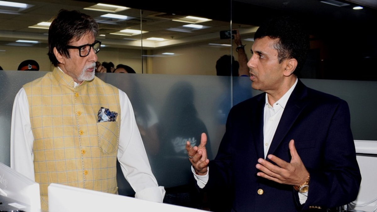 Amitabh Bachchan gets emotional at charity event in Mumbai