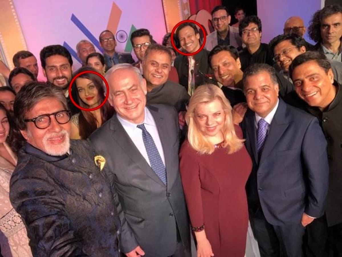 When Aishwarya Rai Bachchan and Vivek Oberoi shared same frame, in Benjamin Netanyahu's 'Bollywood selfie'