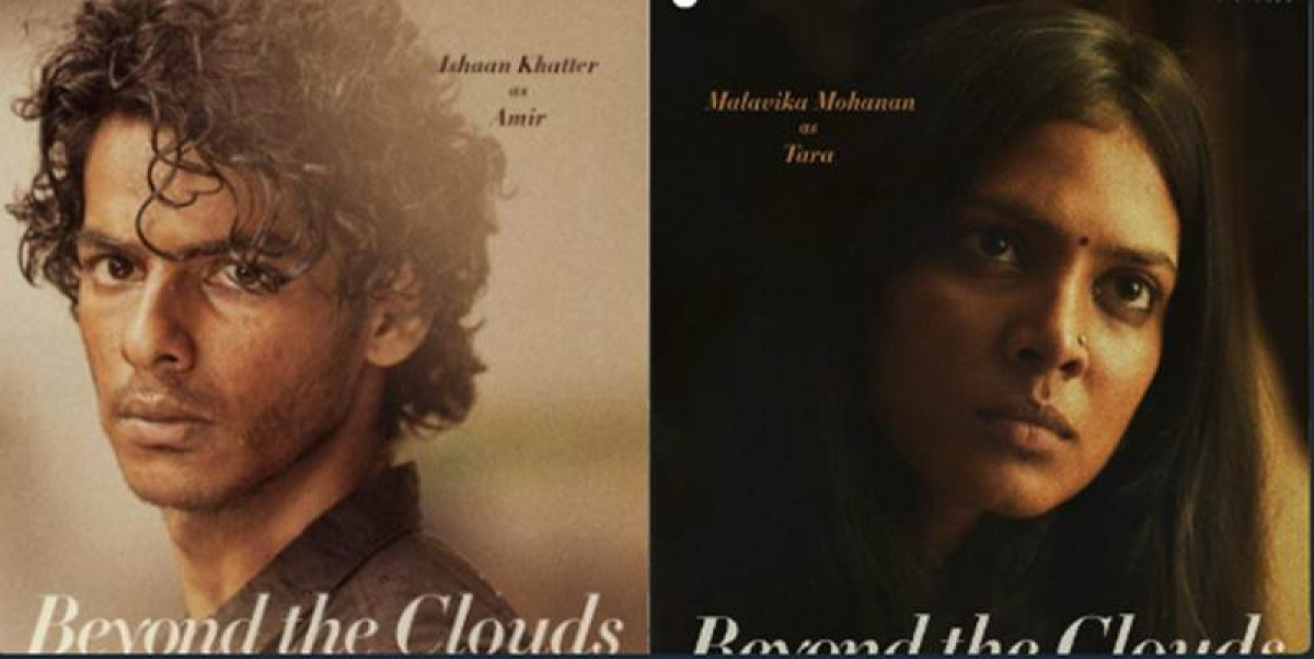 Beyond The Clouds: Ishaan Khatter, Malavika Mohanan look promising in new poster