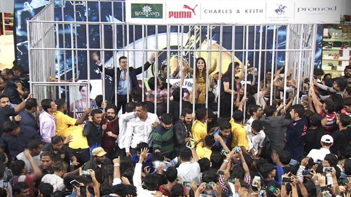 Bigg Boss 11: Shilpa, Hina, Vikas and Luv visit mall to meet their fans; Day 96 developments