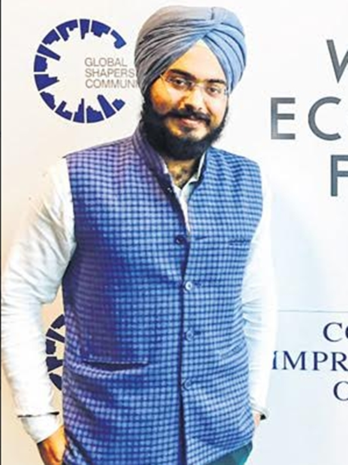 Indore city youth youngest to represent country at WEF in Davos