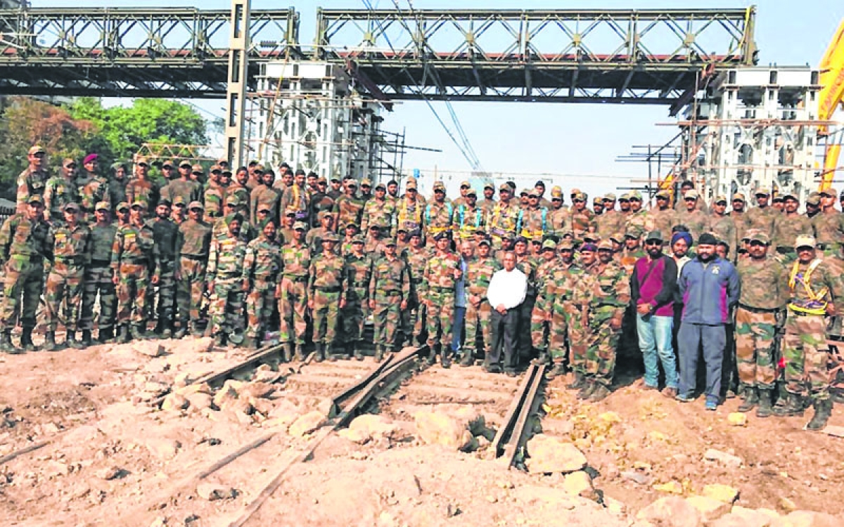 Indian Army successfully completes 80pc construction of Elphinstone FOB