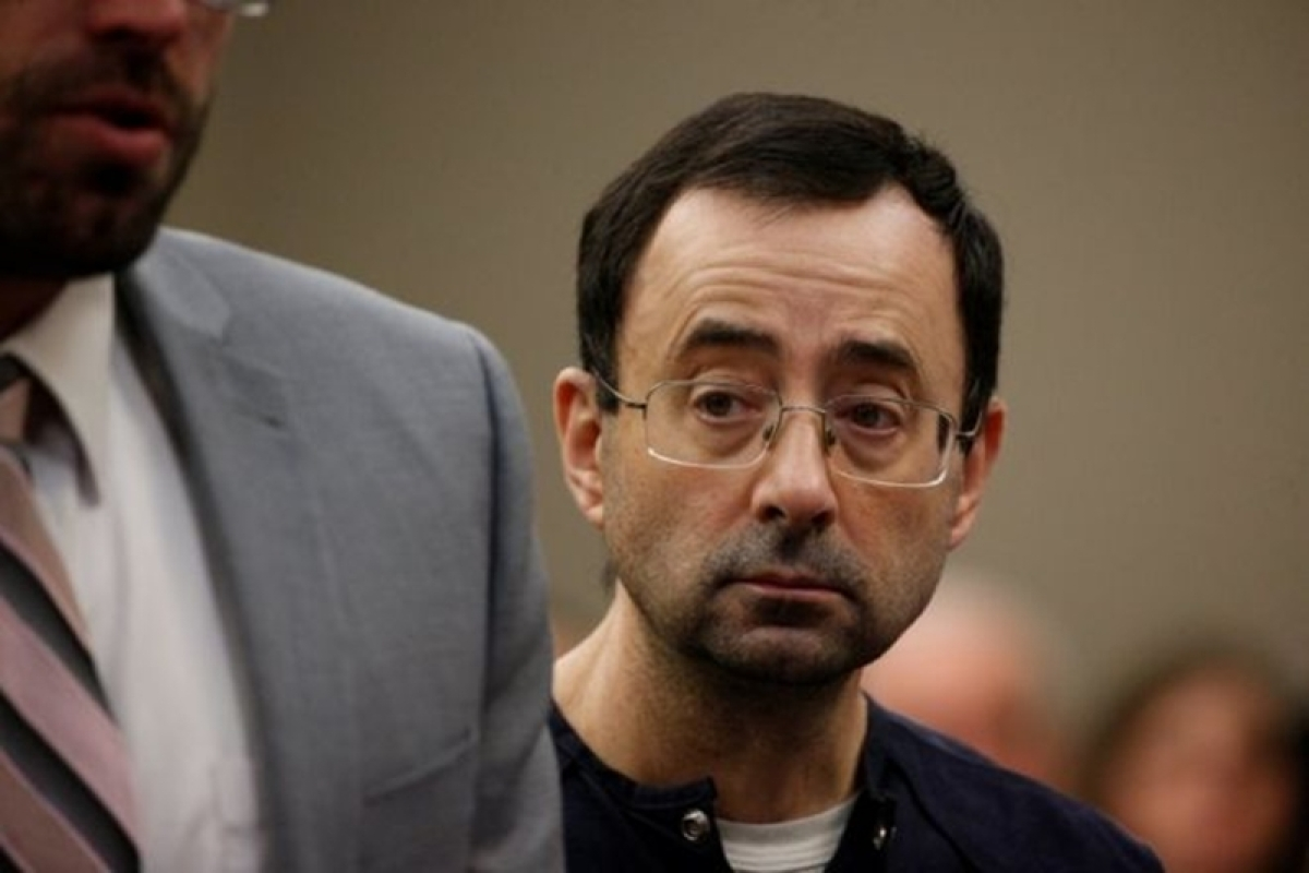 Former US Olympics doctor Larry Nassar jailed for 175 years