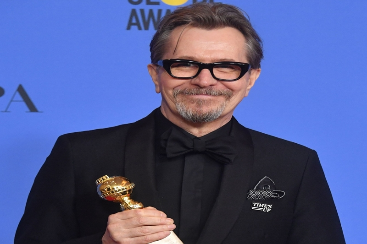 Golden Globes 2018: Gary Oldman wins Best Actor in Motion Picture – Drama