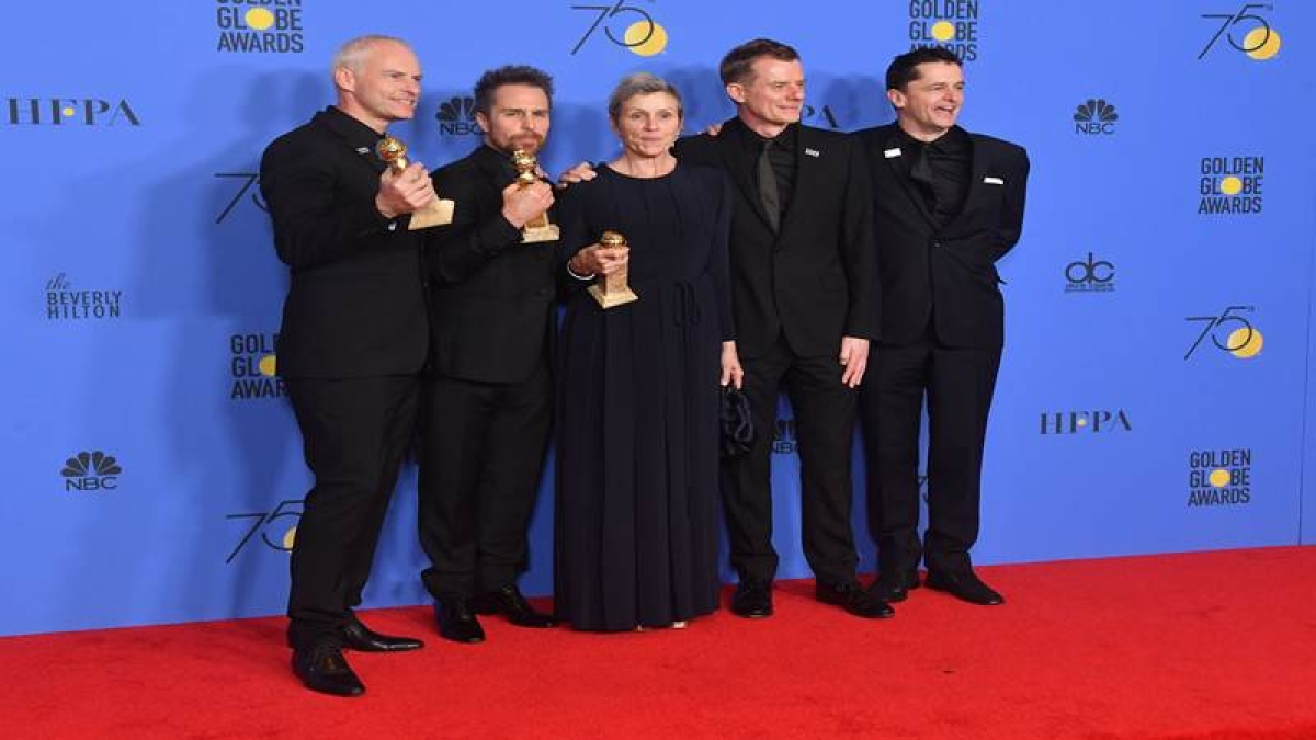 Golden Globes: McDormand wins Best Actress Drama, praises tectonic shift in Hollywood