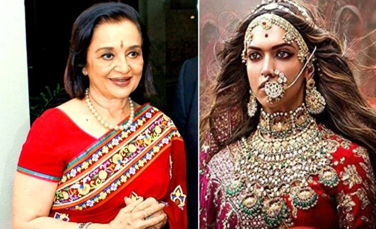 Furious Asha Parekh opens up on 'Padmaavat' row, says 'the nation has gone mad'