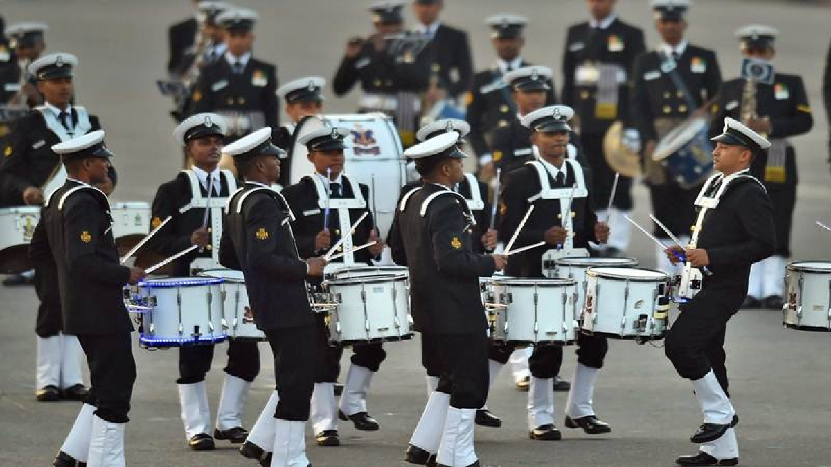 In Pictures: Indian Armed forces dazzle as Beating Retreat marks end of Republic Day celebrations