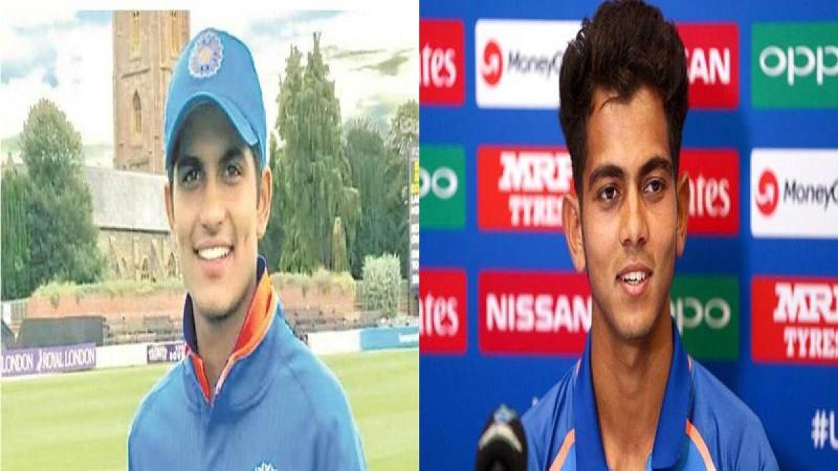 Shubman Gill to Kamlesh Nagarkoti: Meet India's Fab Four at ICC U-19 World Cup 2018