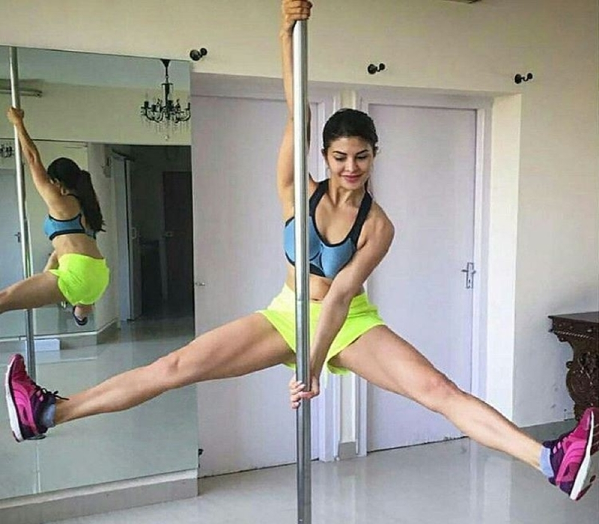 Jacqueline Fernandez's pole dance instructor reveals how 'Judwaa 2' actress popularised the dance form