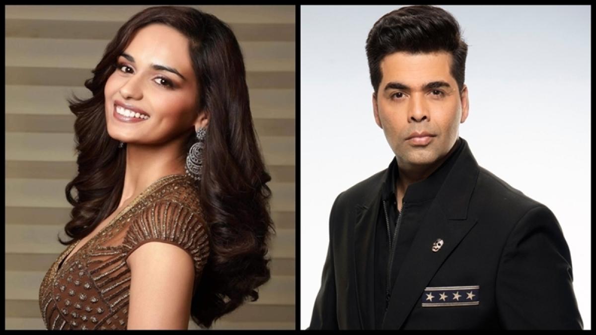 Karan Johar rubbishes rumours of roping Manushi Chillar for 'SOTY 2'