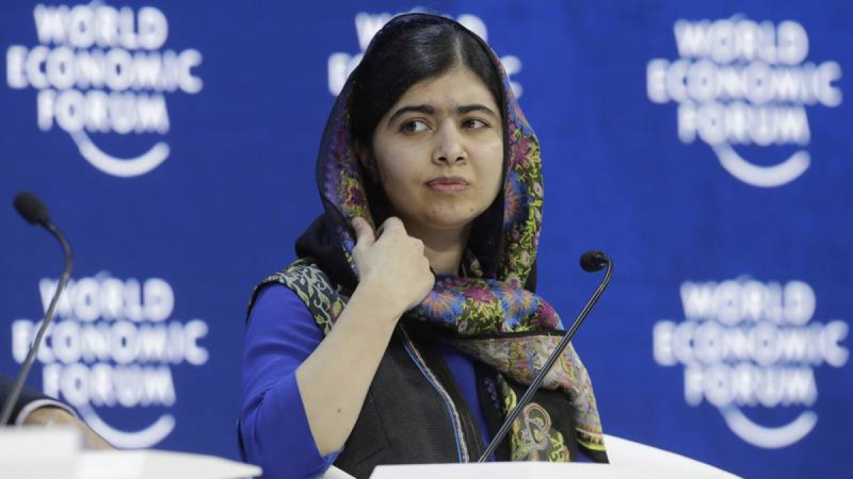 Watch: Malala Yousafzai sends out a strong message to Donald Trump at World Economic Forum in Davos