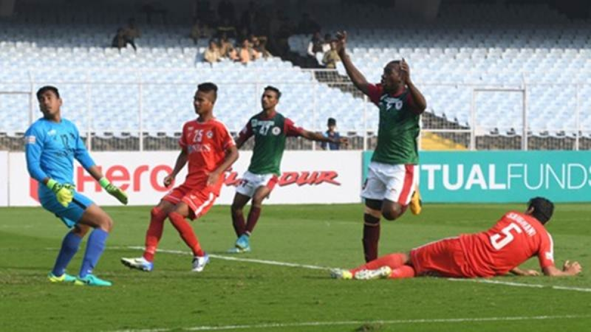 I-League 2017-18: Mohun Bagan hold Aizawl FC tie