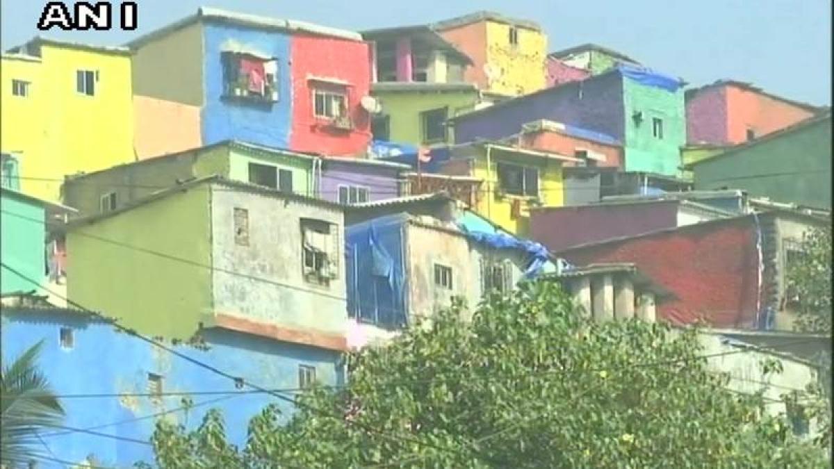 'Positano' of Mumbai: Ghatkopar slum gets a colourful makeover with 'Chal Rang De' initiative