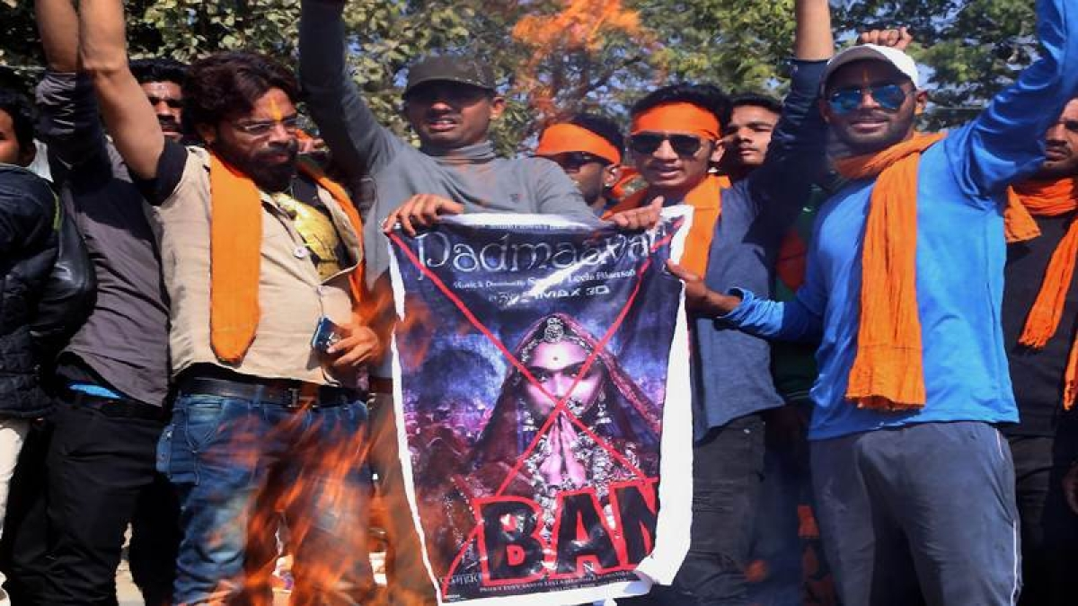 Padmaavat protest: Violence against the release of Bhansali's film across India; buses torched, stones pelted
