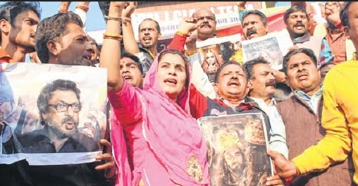 Bhopal: Protests intensify against screening of Padmaavat