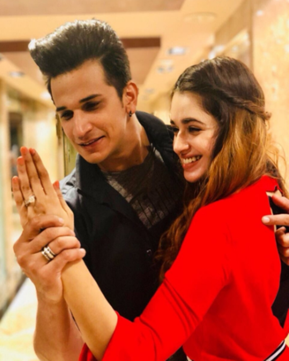 Couple goals! Prince Narula adds Yuvika's name to his name, but asks her not to do the same