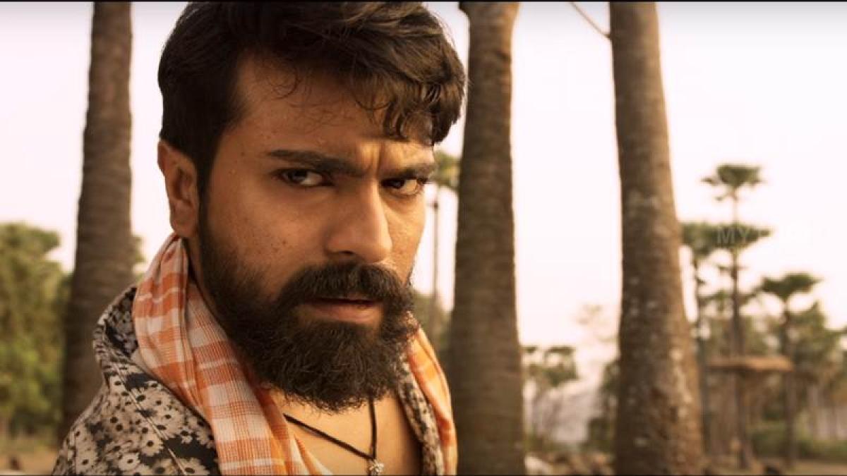 Rangasthalam teaser: Ram Charan Teja promises high-packed action film