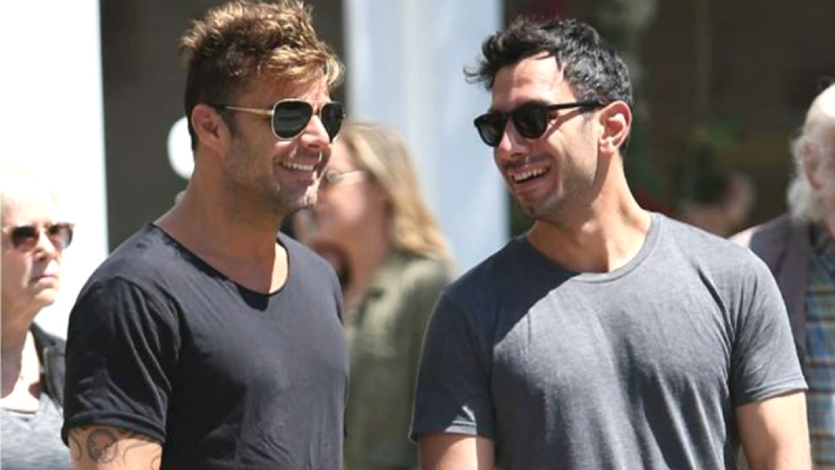 Ricky Martin ties knot with his long time partner Jwan Yosef
