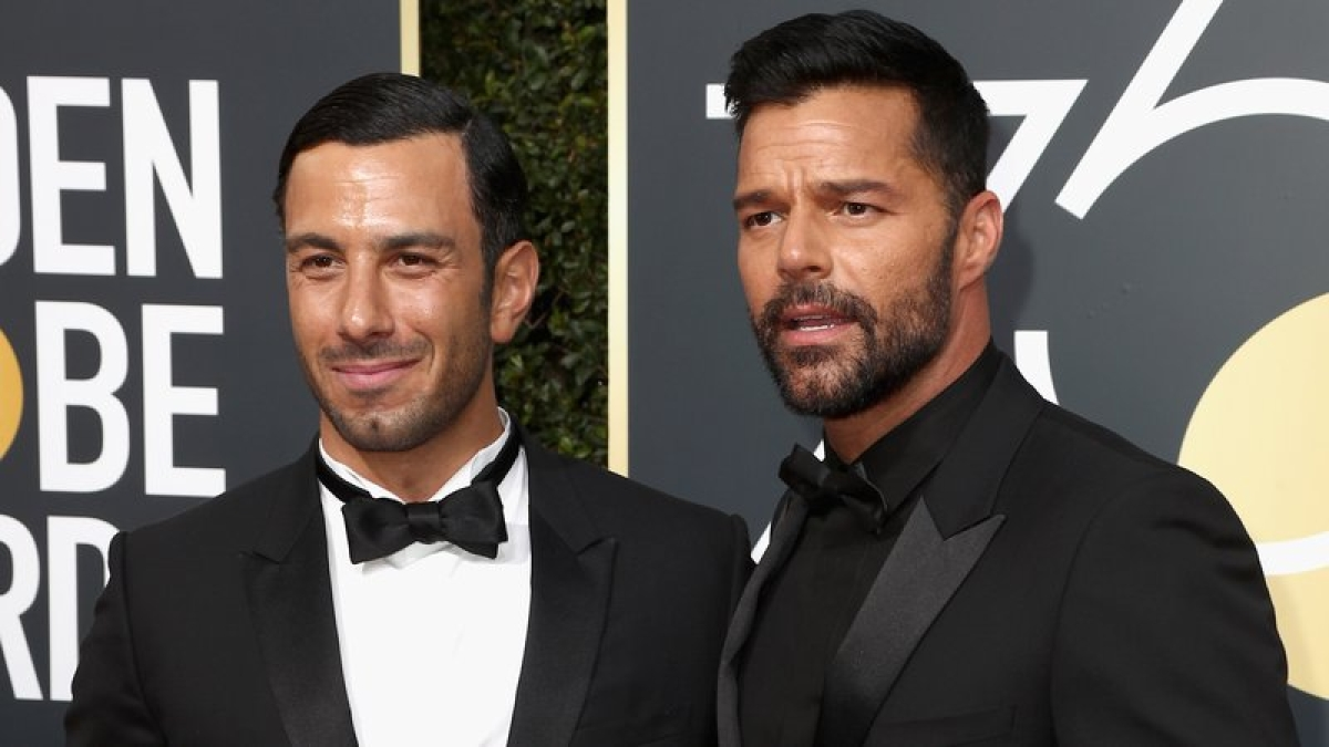 Ricky Martin is a husband now