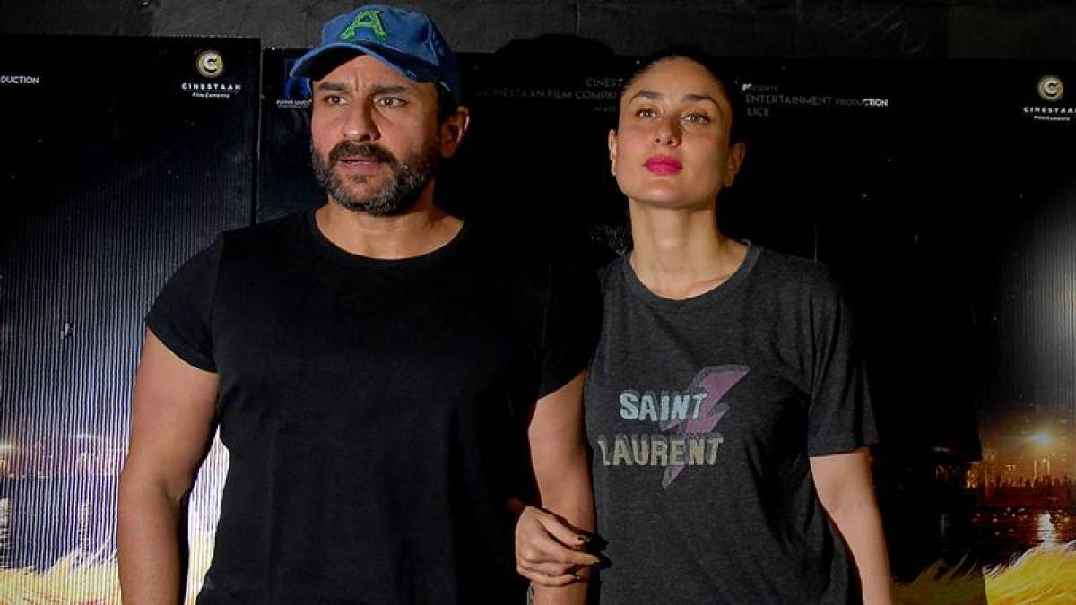 In Pictures: Saif Ali Khan, Kareena Kapoor Khan, others grace the special screening of 'Kaalakaandi'