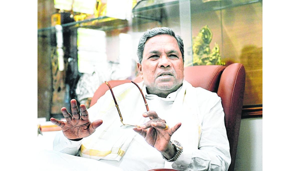 BJP, RSS and Bajrang Dal also have terrorists: Siddaramaiah