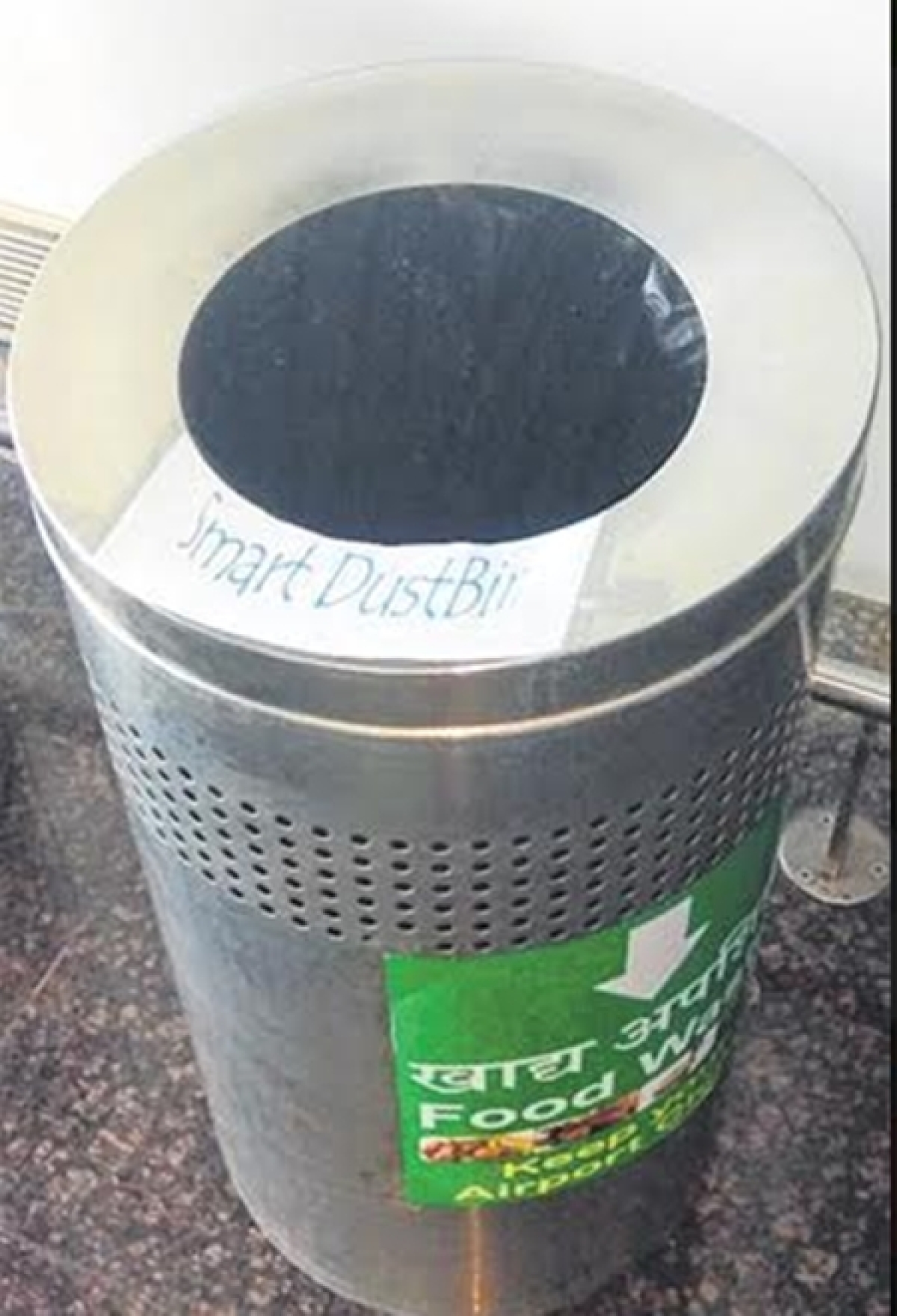 Indore: Smart dustbin sends alert message to airport manager