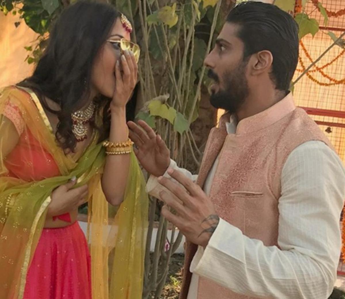 See Pic: Smita Patil's son Prateik Babbar got engaged to long time girlfriend Sanya Sagar