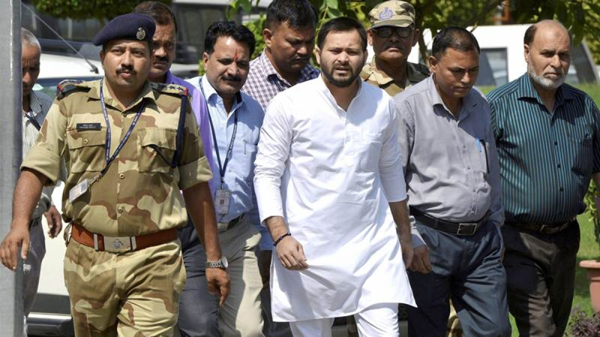 Nitish Kumar government hatching 'serious conspiracy' against me: Tejashwi Yadav