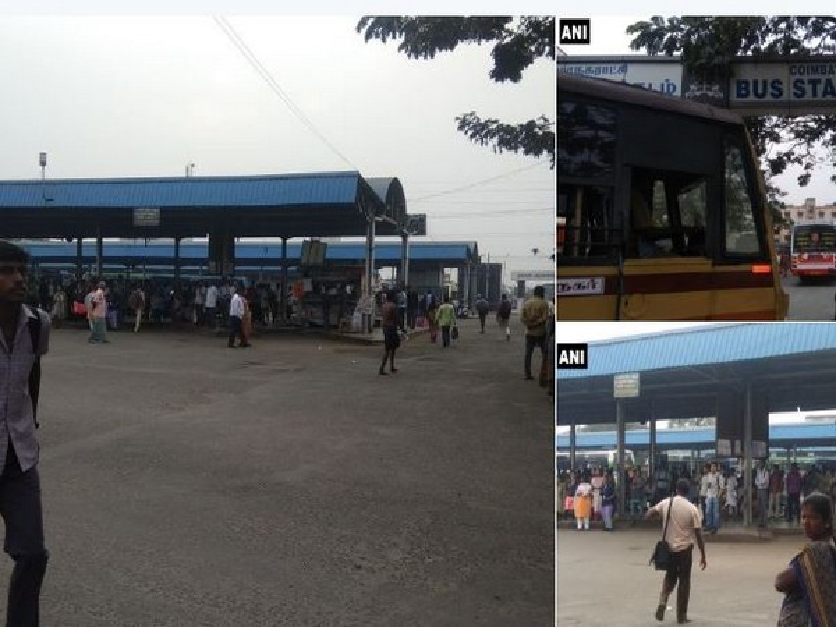 Commuters stranded across Tamil Nadu as bus strike enters 5th day