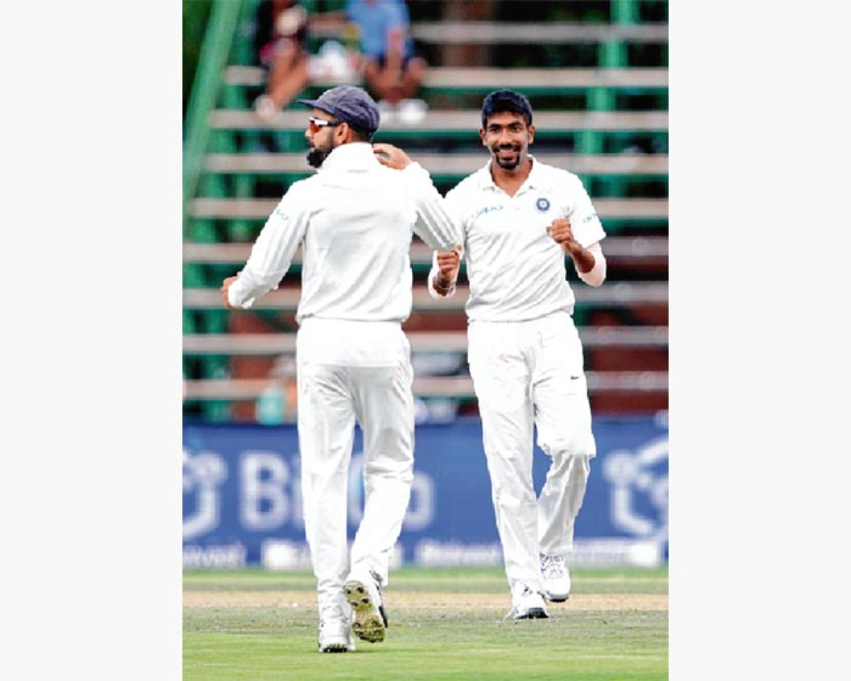 Bumrah keeps India in the hunt with maiden five-wicket haul