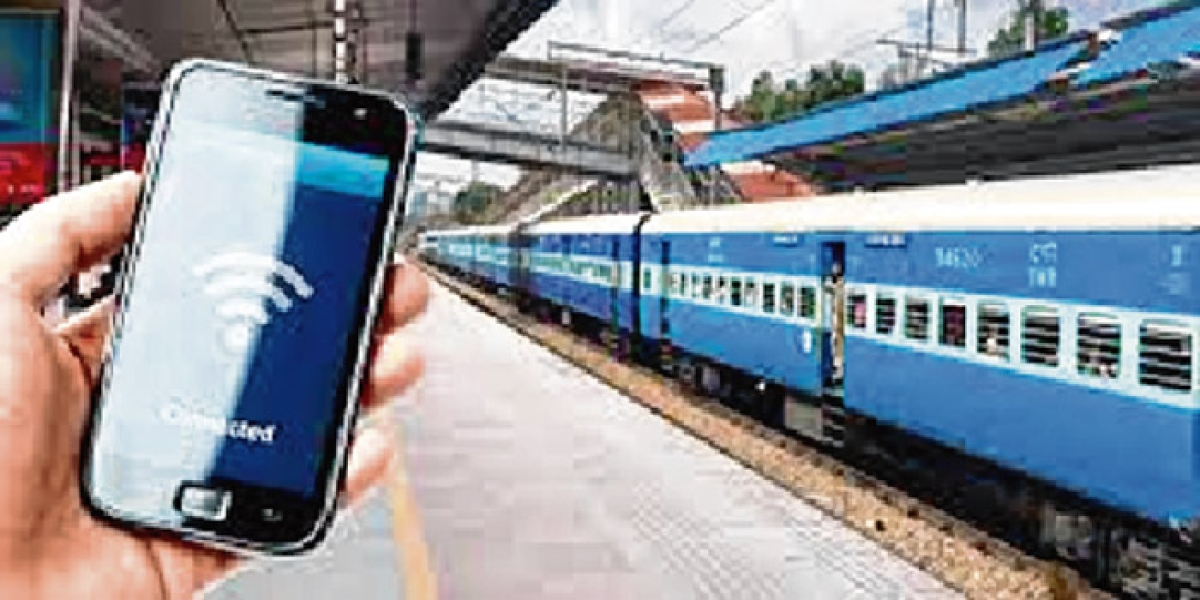 Railways plans to equip 8,500 stations with Wi-Fi