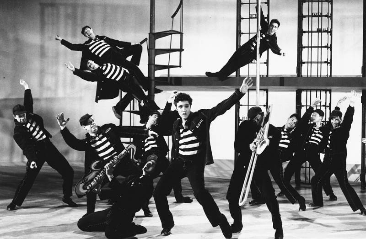 Jailhouse Rock made an impact on the big screen