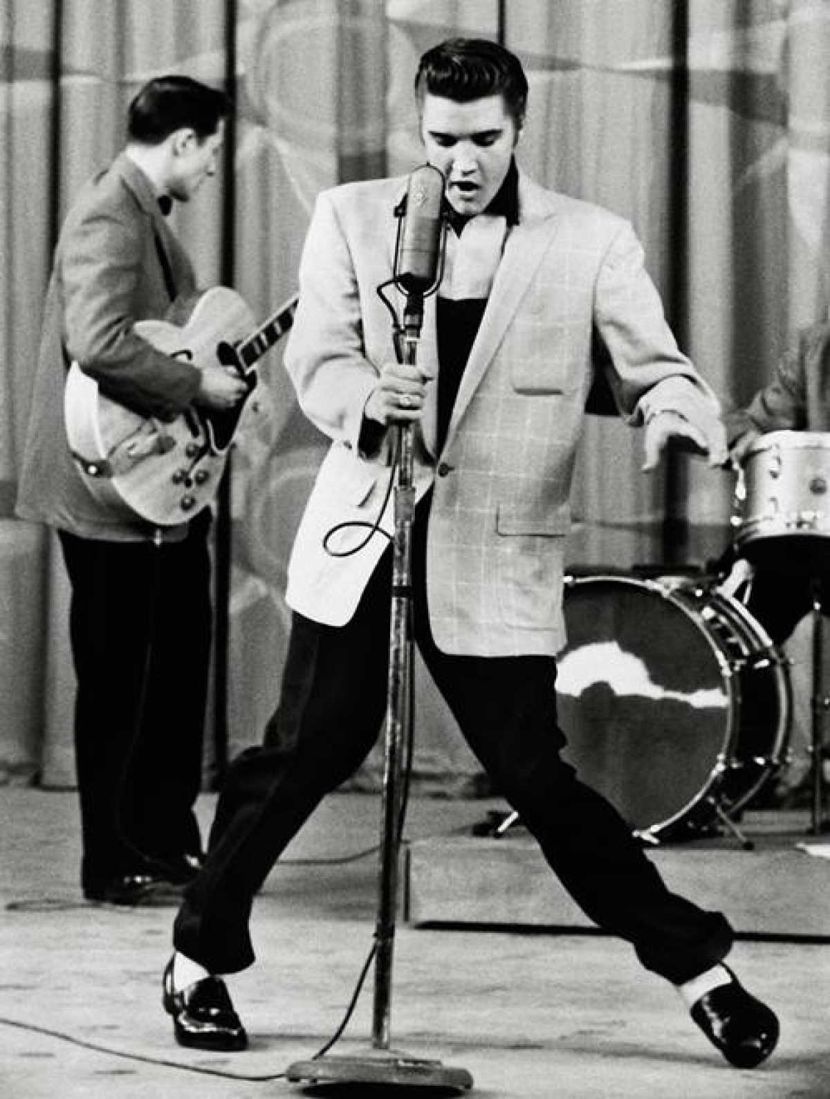 Elvis Presley dance moves were considered provocative