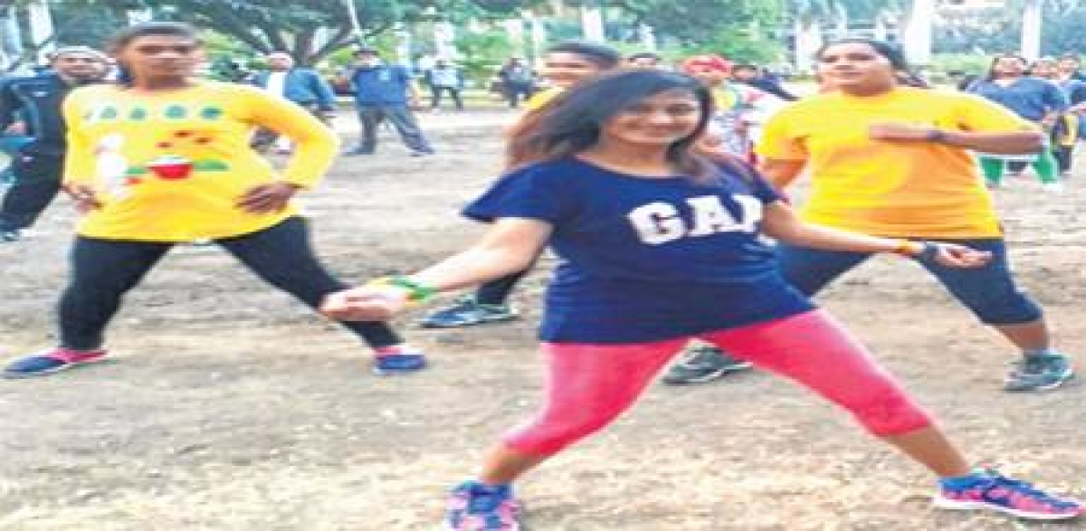 Indore: Fitness enthusiasts enhance energy level with Zumba moves