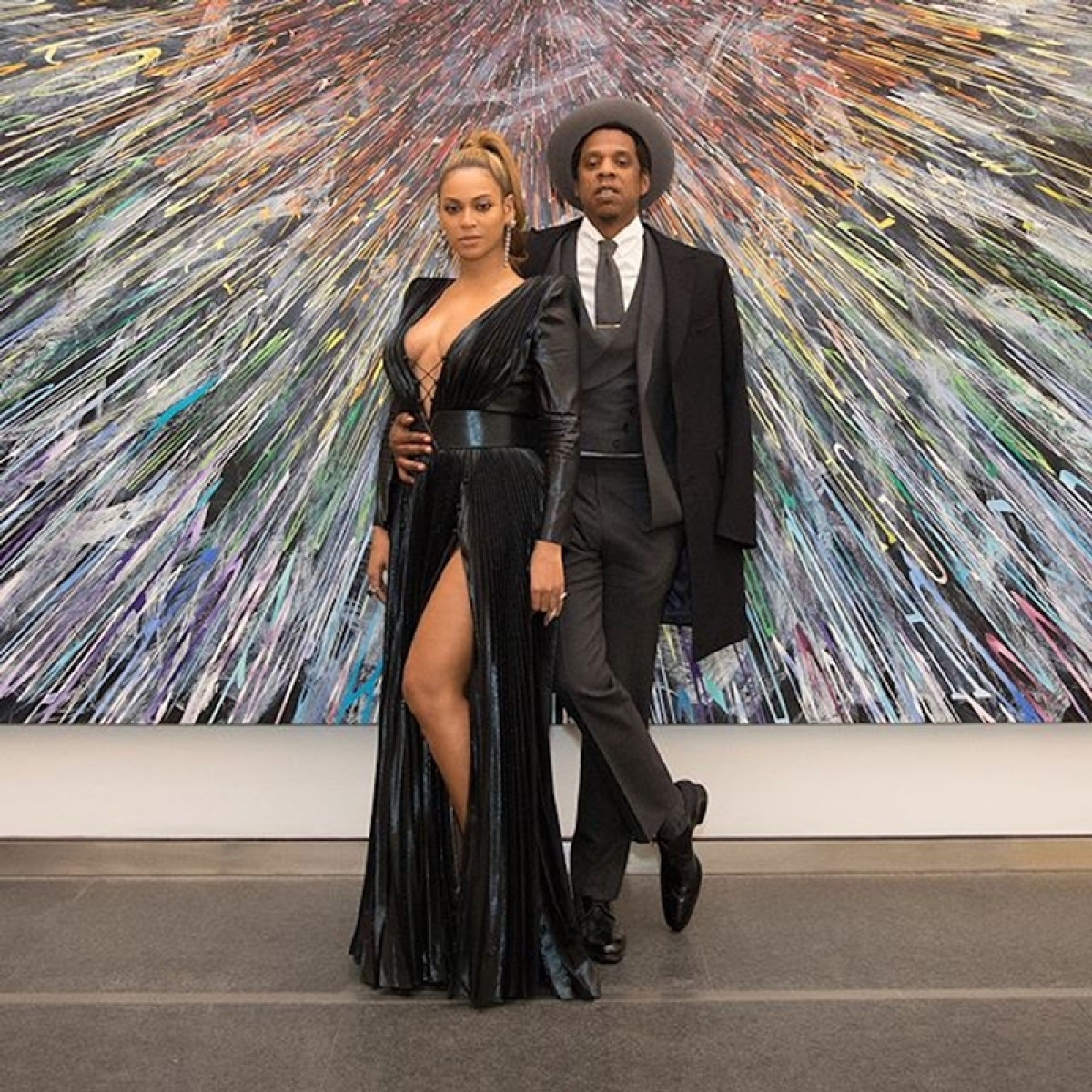 Rapper Jay-Z says they chose to fight for their love instead of parting ways