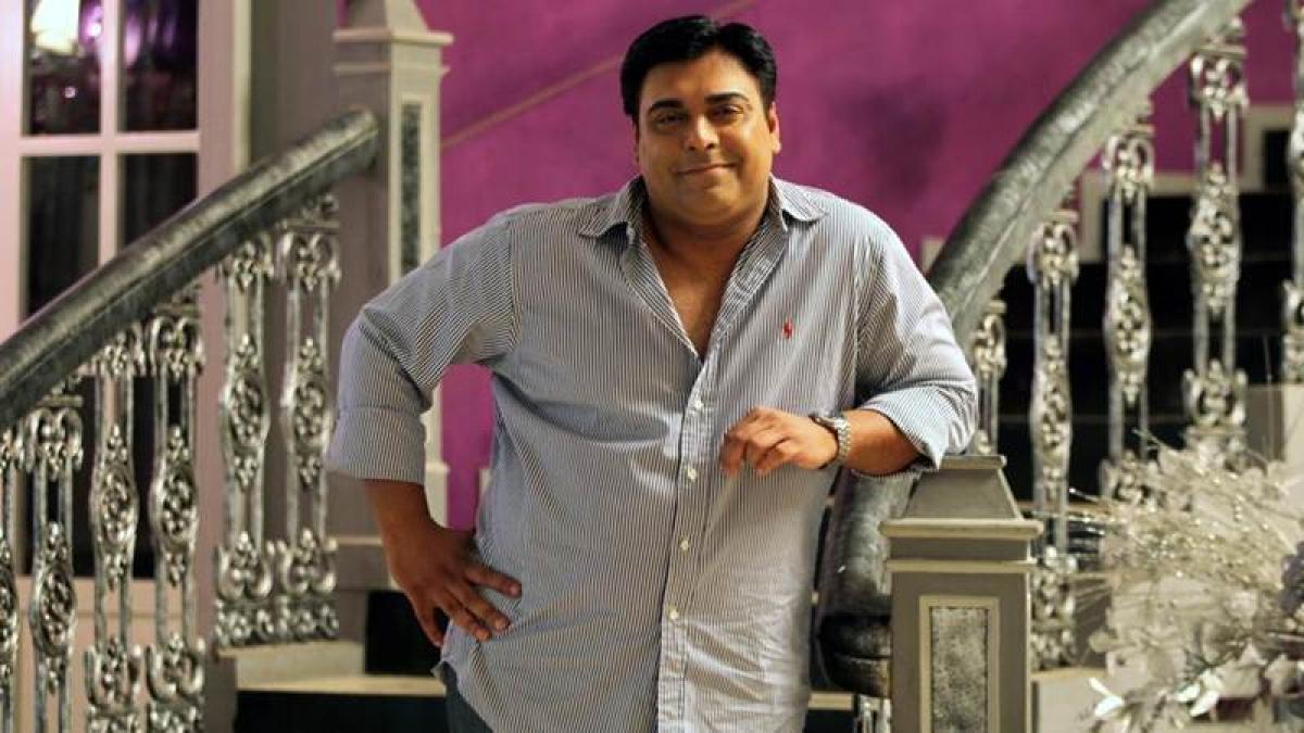 Ram Kapoor in a comic avatar