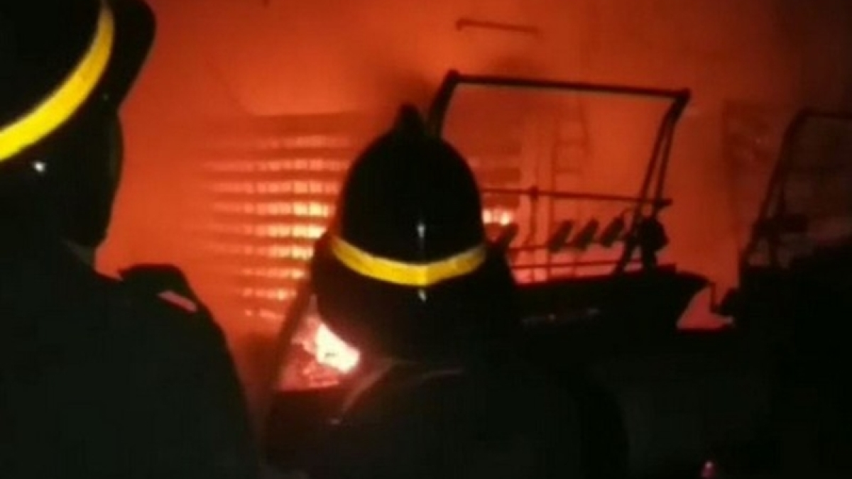 Major fire breaks out at dyeing company in Bhiwandi
